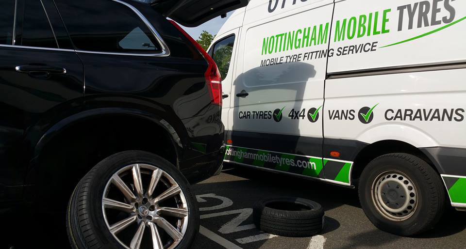 Nottingham Mobile Tyres Van - Roadside Assistance Nottingham